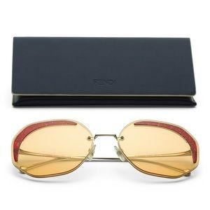 NWT/ FENDI Geometric Designers Sunglasses